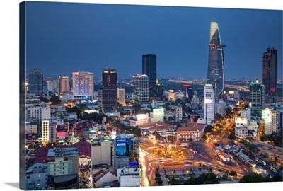 Vietnam, Ho Chi Minh City (Saigon), Dong Khoi, City Skyline