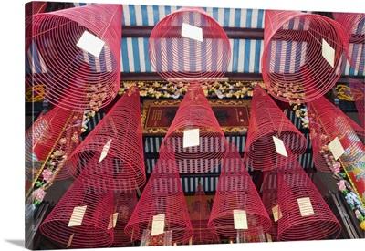 Vietnam, Hoi An, Phuc Kien Assembly Hall, Incense Coils