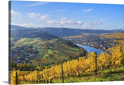 View At Krov, Mosel Valley, Rhineland-Palatinate, Germany