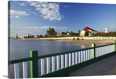 View of Inhambane from ferry pier, Inhambane, Mozambique