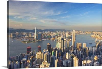 View of Kowloon and Hong Kong Island from Victoria Peak, Hong Kong