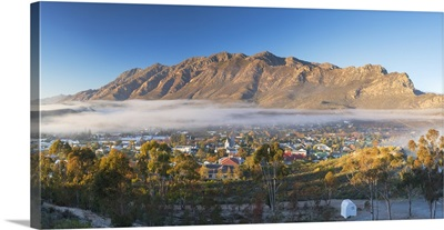 View of Montagu, Western Cape, South Africa