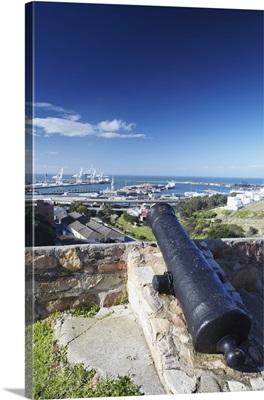 View of Port Elizabeth from Fort Frederick, Port Elizabeth, Eastern Cape, South Africa