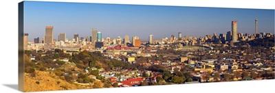 View of skyline, Johannesburg, Gauteng, South Africa