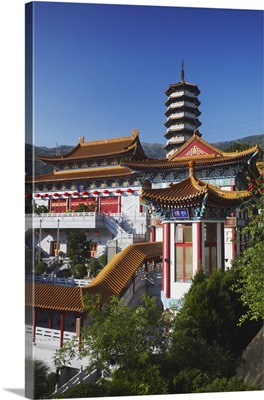 Western Monastery, Tsuen Wan, New Territories, Hong Kong, China