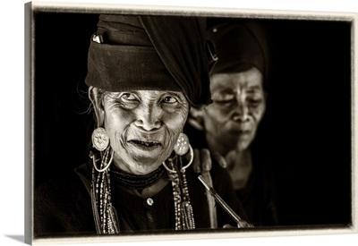 Woman of the Ann tribe, nr Kyaing Tong, Golden Triangle, Myanmar, (Burma)