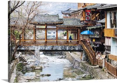 Xijiang, or 'one-thousand-household Miao Village, Guizhou, China