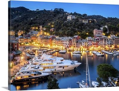 Yacht Harbour of Portofino, Italy