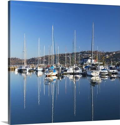 Yachts in Knysna Yacht Club, Knysna, Western Cape, South Africa