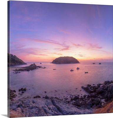 Yanui Beach At Sunset, Phuket, Thailand