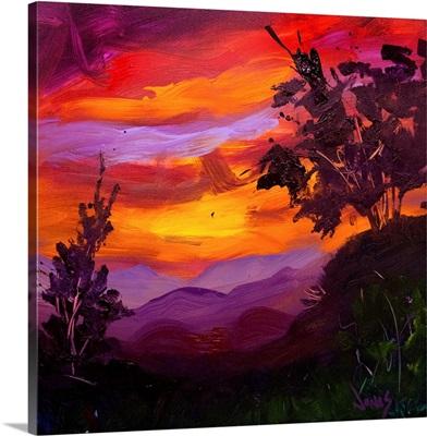 Full Glory Sunset III