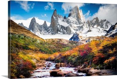 A Creek Runs Through It, Patagonia, Argentina