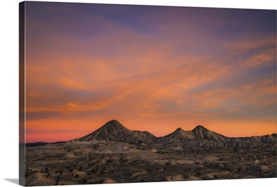 A Gorgeous Sunset Over the Arizona Desert, AZ