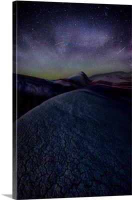 Astro Glow and Milky Way Over the Utah Desert, UT