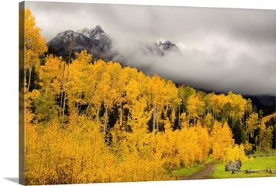 Fall Colors Peak In Colorado's Rocky Mountains Telluride