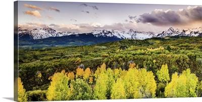 San Juan Mountains Border the Valley, Telluride, Colorado
