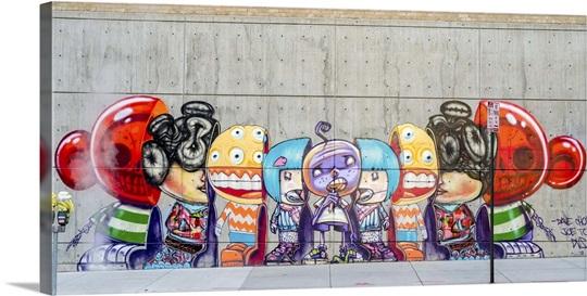 street graffitti denver colorado wall art canvas prints framed