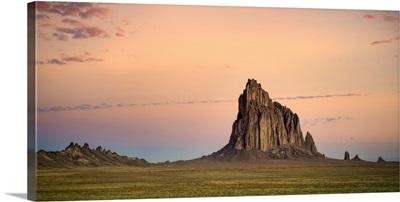 Sunset Over Shiprock, Shiprock