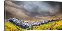 Suset and Clouds, Sneffels Range, Mount Sneffels Range, Dallas Divide, CO