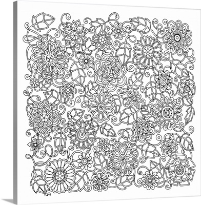 Flowers and Vines II