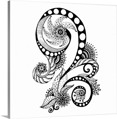 Henna Swirl I