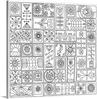 Mosaic Squares II