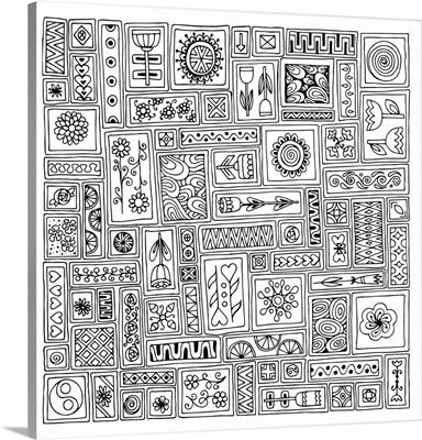 Mosaic Squares IV