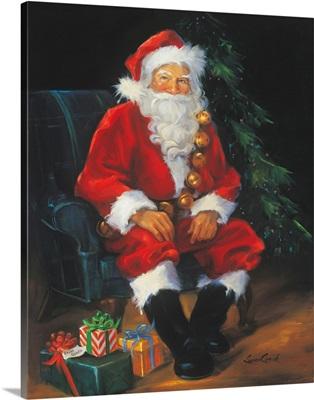 Santa and presents