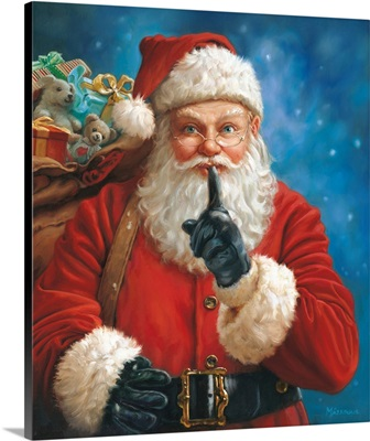 Shhh Santa