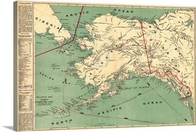 Alaska, State Map