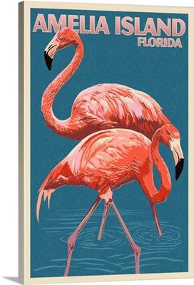 Amelia Island, Florida, Flamingo