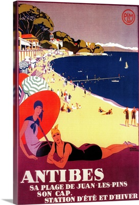 Antibes Vintage Poster, Europe