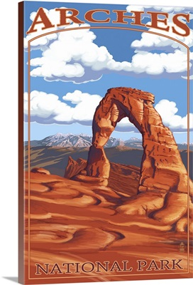 Arches National Park, Utah, Delicate Arch, Day Scene