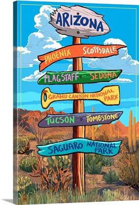 Arizona, Destination Signpost