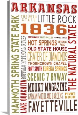 Arkansas Typography