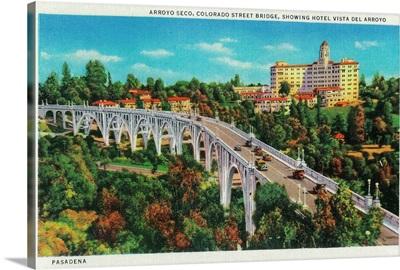 Arroyo Seco Bridge, Colorado Street Bridge, Pasadena, CA