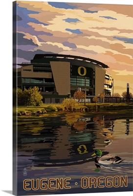 Autzen Stadium, Eugene, Oregon