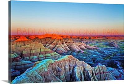 Badlands National Park, South Dakota, Sunrise
