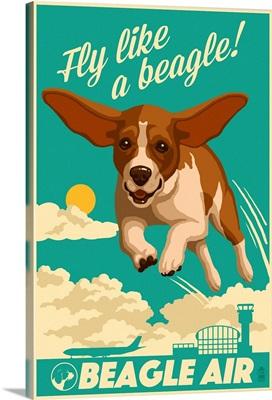 Beagle, Retro Aviation Ad