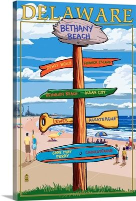 Bethany Beach, Delaware, Destination Signpost