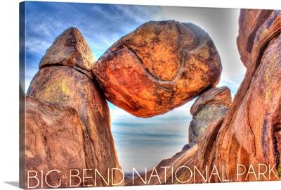 Big Bend National Park, Texas, Balanced Rock
