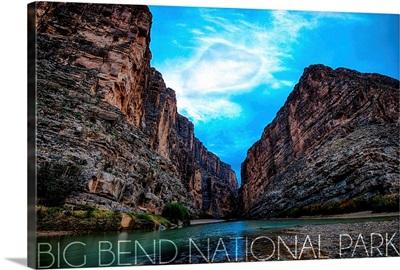Big Bend National Park, Texas, Rio Grande River