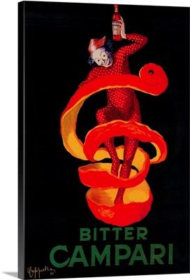 Bitter Campari Vintage Poster, Europe