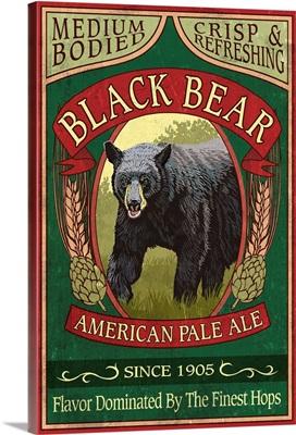 Black Bear Ale, Vintage Sign