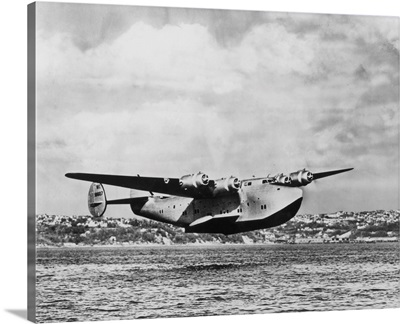 Boeing 314 China Clipper Over Water