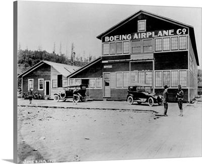 Boeing Airplane Co. Plant near Duwamish River, Seattle, WA