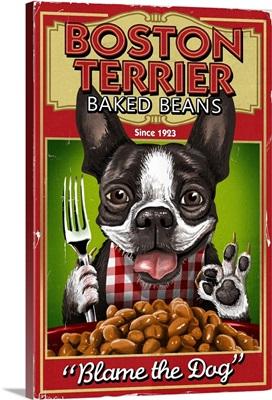 Boston Terrier Baked Beans