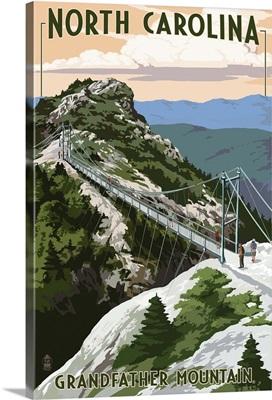 Bridge, Grandfather Mountain, North Carolina