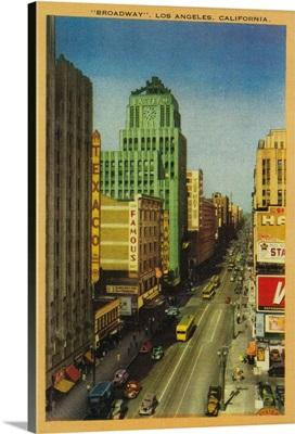 Broadway Street in Los Angeles, CA, Los Angeles, CA