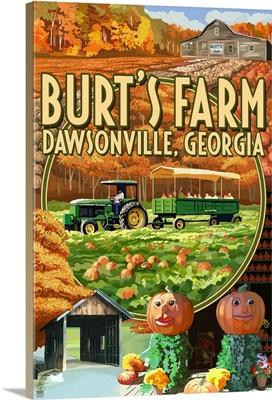 Burt's Farm, Dawsonville, Georgia